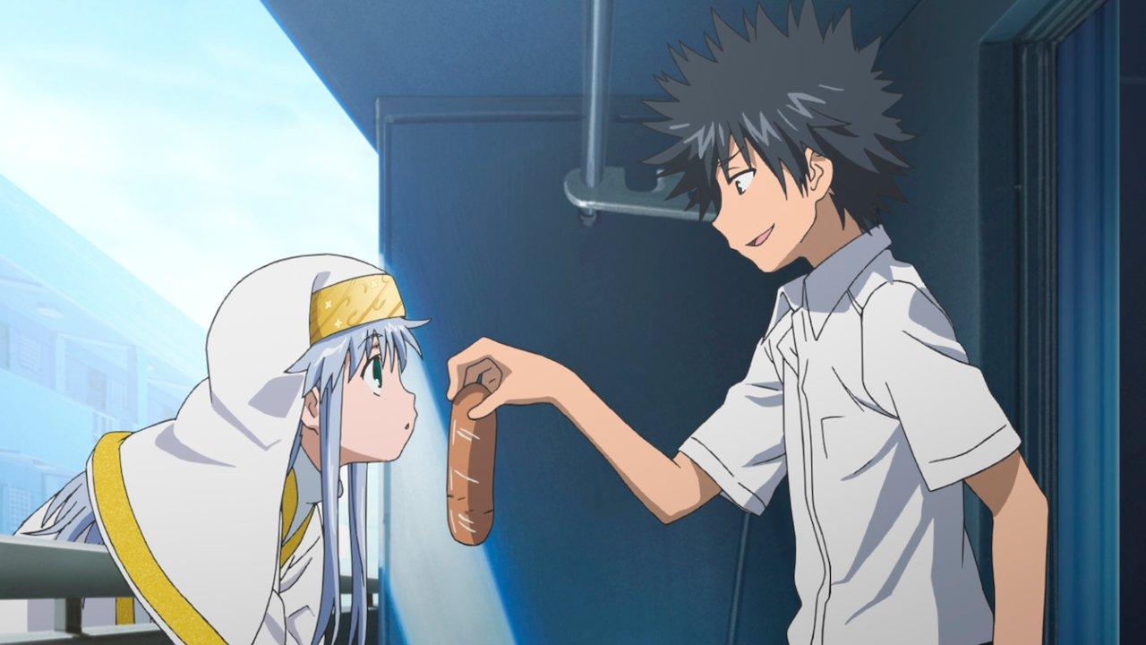 A Certain Magical Index, anime (extrait épisode 1)
